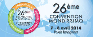 Convention MONDISSIMO 2014 Mobilite International